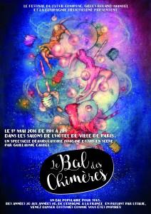 Affiche Bal des Chimeres